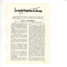 Coleccionismo: AÑO 1955 RECORTE PUBLICIDAD MEDICINA FARMACIA BIO HUBBER ANTIBIOTICO INFECCION GASTROINTESTINAL . Lote 98196971