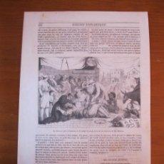 Coleccionismo: EL MOLINERO ATRAPADO EN EL ANILLO, 1850. Lote 98512299