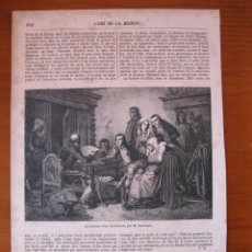 Coleccionismo: LECTURA DE UN TESTAMENTO, 1857. Lote 98512835
