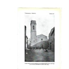 Coleccionismo: AÑO 1922 LAMINA FOTOGRAFICA TIPO POSTAL FOTOGRAFIA LA SECUITA TARRAGONA. Lote 98807447