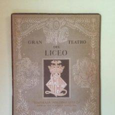 Coleccionismo: BARCELONA- GRAN TEATRO DEL LICEO - PROGRAMA 1953- 1954. Lote 99540819