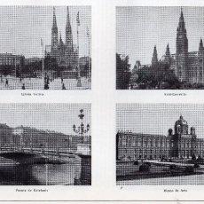 Coleccionismo: LÁMINA ESPASA Nº 30 - VIENA I Y VIENA II. Lote 100317471