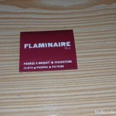 Coleccionismo: PAQUETE DE PIEDRAS PARA MECHERO FLAMINAIRE - PARIS.. Lote 101108355