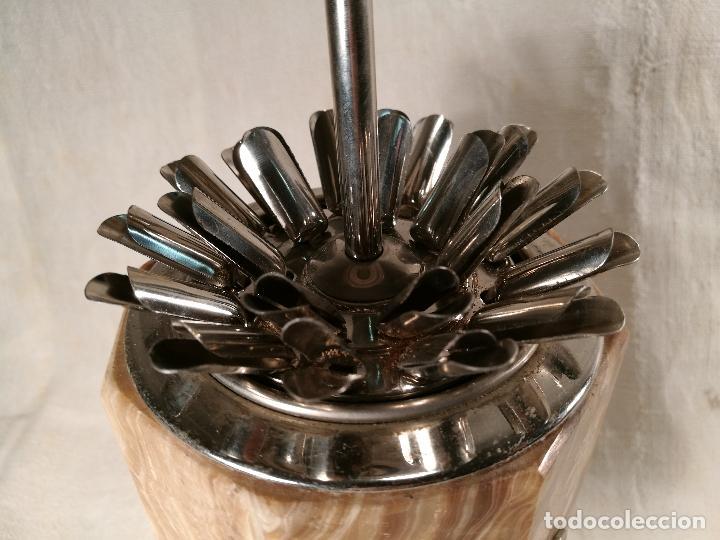 Coleccionismo: cigarrera musical años 50-60 en metal cromado y agata - Foto 24 - 101369287