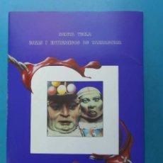 Coleccionismo: SANTA TECLA. BALLS I ENTREMESOS DE TARRAGONA. 1989.JOSEP RAMON FONTANA. 28 LAMINES. GEGANTS, CAPGROS. Lote 153704680