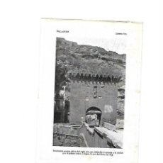 Coleccionismo: AÑO 1922 BALAGUER LLEIDA LERIDA PUERTA GOTICA MURALLA LAMINA FOTOGRAFICA TIPO POSTAL FOTO. Lote 101434695