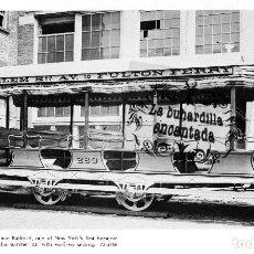 Coleccionismo: LAMINA TRANVIA NUEVA YORK HARLEM SECOND AVENUE RAILROAD TRAMWAY CARS - FERROCARRIL TRANVIAS TRANVIA. Lote 102378803