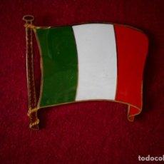 Coleccionismo: BANDERA DE CHAPA ITALIA. Lote 102475955