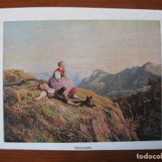 Coleccionismo: JOVENES PASTORES EN LAS MONTAÑA, 1906. Lote 102736719