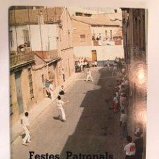Coleccionismo: BORBOTÓ (VALENCIA). PROGRAMA DE FIESTAS (A.1991). Lote 103088516