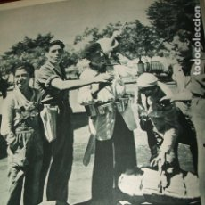 Coleccionismo: JEREZ DE LA FRONTERA CADIZ AGUA FRESCA LAMINA HUECOGRABADO AÑOS 40 17,5 X 23 CMTS. Lote 103233623