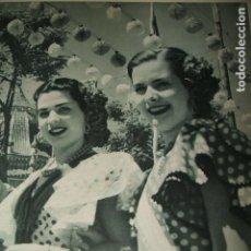 Coleccionismo: SEVILLA FERIA DE ABRIL LAMINA HUECOGRABADO AÑOS 40 17,5 X 23 CMTS. Lote 103234759