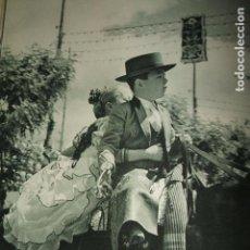 Coleccionismo: SEVILLA FERIA DE ABRIL LAMINA HUECOGRABADO AÑOS 40 16 X 21 CMTS. Lote 103294875