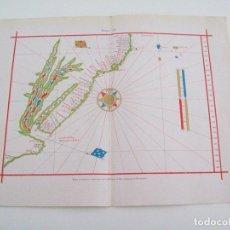 Coleccionismo: LAMINA ESPASA 4020: MAPA PORTUGUES. Lote 103311378