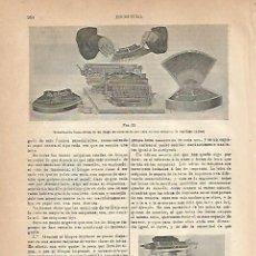 Coleccionismo: LAMINA ESPASA 18920: MAQUINA YOST. Lote 103398092