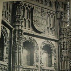 Coleccionismo: MURCIA CATEDRAL LAMINA HUECOGRABADO AÑOS 40. Lote 103415999