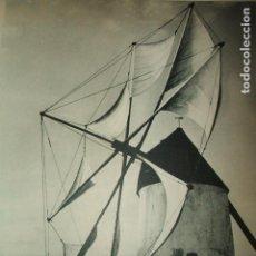 Coleccionismo: CARTAGENA MURCIA MOLINO LAMINA HUECOGRABADO AÑOS 40. Lote 103416107