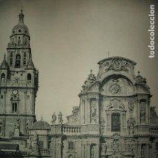 Coleccionismo: MURCIA CATEDRAL LAMINA HUECOGRABADO AÑOS 40. Lote 103416231