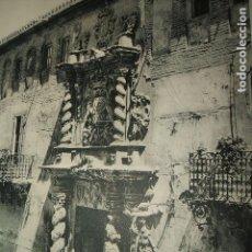 Coleccionismo: LORCA MURCIA PALACIO LAMINA HUECOGRABADO AÑOS 40. Lote 103416651