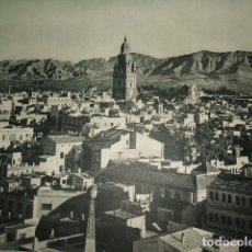 Coleccionismo: MURCIA VISTA LAMINA HUECOGRABADO AÑOS 40. Lote 103416943
