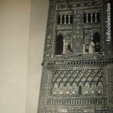 Coleccionismo: TERUEL TORRE MUDEJAR LAMINA HUECOGRABADO AÑOS 40. Lote 103422543