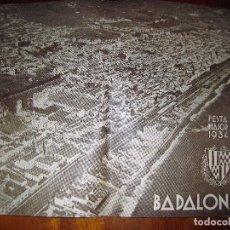 Coleccionismo: PROGRAMA FESTA MAJOR BADALONA 1934 . 8 PÁG. FIESTA MAYOR . PUBLICIDAD LOCAL. Lote 103727819