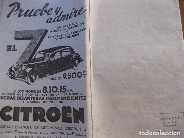 Coleccionismo: programa festa major badalona 1934 . 8 pág. fiesta mayor . publicidad local - Foto 5 - 103727819