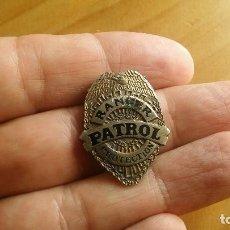Coleccionismo: BONITA MEDALLA POLICIA DE PLATA RANGERS USA. Lote 116396162