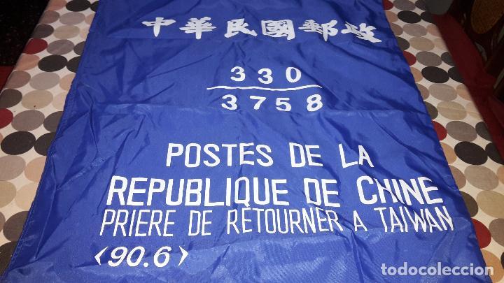 SACA CORREOS REPÚBLICA CHINA (Coleccionismo - Varios)