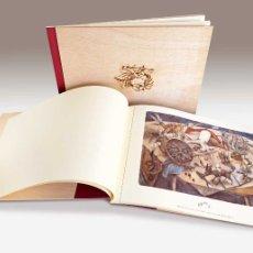 Coleccionismo: IDEAL REGALO. ANA JUAN CARPETA MADERA 6 LÁMINAS ENMARCABLES. NUEVO. Lote 146834045