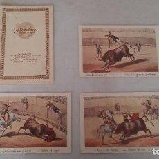 Coleccionismo: LAMINAS CON ILUSTRACIONES TAURINAS. Lote 104030243