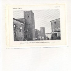 Coleccionismo: AÑO 1922 VERGES CASTELL CASTILLO GIRONA GERONA LAMINA FOTOGRAFICA ANIMADA TIPO POSTAL. Lote 104576583