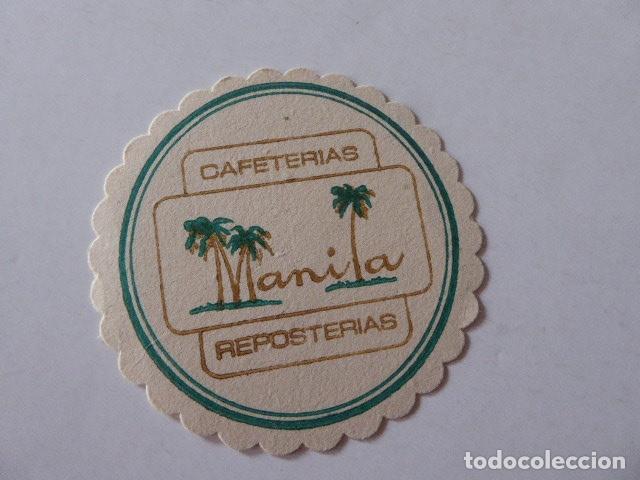POSAVASOS REPOSTERIA MANILA (Coleccionismo - Varios)