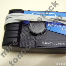 Coleccionismo: CÁMARA DE FOTOS CON DIAPOSITIVAS RECUERDO DE SANTILLANA DEL MAR, SOUVENIR - 8 FOTOS. Lote 104613539
