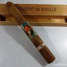 Coleccionismo: FANTASTICO PURO ENORME DE PRESIDENT DE GAULLE EN SU CAJA ORIGINAL. Lote 104772251