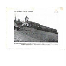 Coleccionismo: AÑO 1922 SANT JOAN DE L'ERM DEL HERM ANTIGUO SANTUARIO DESAPARECIDO EN 1936 SANTUARI LAMINA POSTAL. Lote 104830031