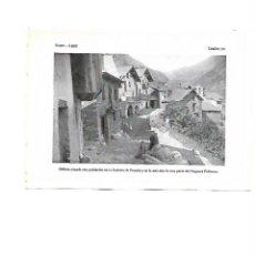 Coleccionismo: AÑO 1922 AREU ALIS PALLARS SOBIRA FRONTERA FRANCIA NOGUERA LAMINA FOTOGRAFICA ANIMADA TIPO POSTAL. Lote 104972063