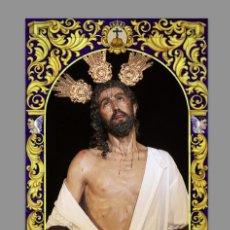 Coleccionismo: AZULEJO 40X25 DE JESUS DESPOJADO DE SEVILLA. Lote 105079803