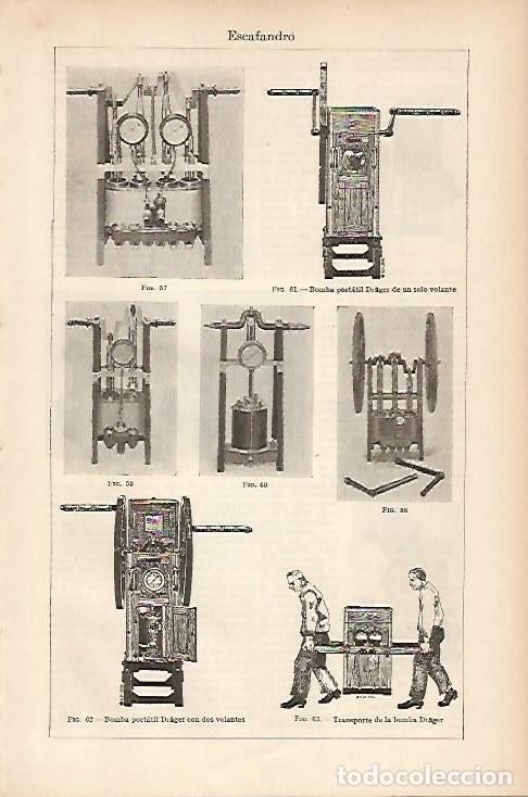 LAMINA ESPASA 5452: BOMBAS PORTATILES (Coleccionismo - Laminas, Programas y Otros Documentos)