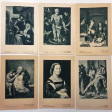 Coleccionismo: LAMINAS DE LA REVISTA DE INFORMACION TERAPEUTICA. 6 LAMINAS.. Lote 38446850