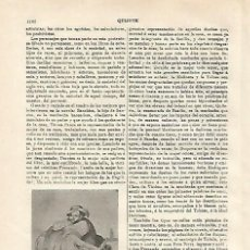 Coleccionismo: LAMINA ESPASA 20720: SANCHO PANZA. Lote 105342252