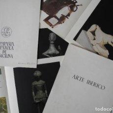 Coleccionismo: ARTE IBÉRICO. 6 LÁMINAS 24CM X 21CM. PUBLICIDAD COMPAÑÍA ESPAÑOLA DE PENICILINA.. Lote 105595019