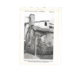 Coleccionismo: AÑO 1922 SANT JOAN DE LES ABADESSES ABADESAS CAPILLA CAPELLA SAN MIGUEL SANT MIQUEL IGLESIA RUINAS. Lote 105690127