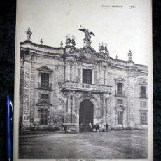 Coleccionismo: FOTOGRAFIA SEVILLA FABRICA TABACOS - 36X30CM - CIRCA 1890. Lote 105819663