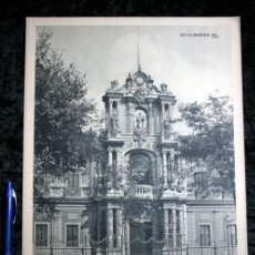 Coleccionismo: FOTOGRAFIA SEVILLA - PALACIO DE SAN TELMO - FACHADA - CIRCA 1890 - 37X29CM. Lote 105821219