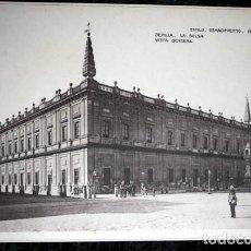 Coleccionismo: FOTOGRAFIA - SEVILLA - LA BOLSA - VISTA GENERAL - 39X26CM - CIRCA 1890. Lote 105821415