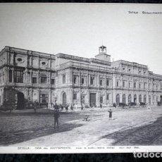 Coleccionismo: FOTOGRAFIA - SEVILLA - CASA DEL AYUNTAMIENTO - 39X27CM - CIRCA 1890. Lote 105821515