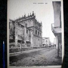 Coleccionismo: FOTOGRAFIA - SEVILLA - IGLESIA DEL SAGRARIO - NORTE - 36X29,5CM - CIRCA 1890. Lote 105879819