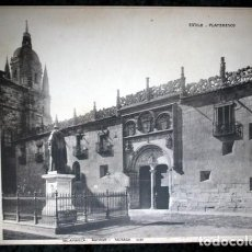 Coleccionismo: FOTOGRAFIA - SALAMANCA - ARCHIVO - FACHADA - 37X29CM - CIRCA 1890. Lote 105880059