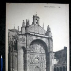 Coleccionismo: FOTOGRAFIA - SALAMANCA - SANTO DOMINGO - FACHADA PRINCIPAL- 37X27CM - CIRCA 1890. Lote 105903951